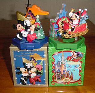 日本东京迪士尼乐园&迪士尼海洋圣诞节限定公仔