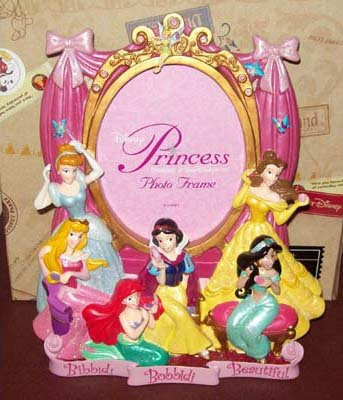 美国迪士尼乐园限定迪士尼公主美丽魔法相框
