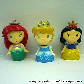爱丽儿(小美人鱼),仙度瑞拉(灰姑娘)&白雪(白雪公主),是不是很可爱