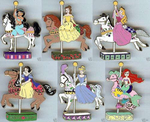 爱木小湾迪士尼公主旋转木马