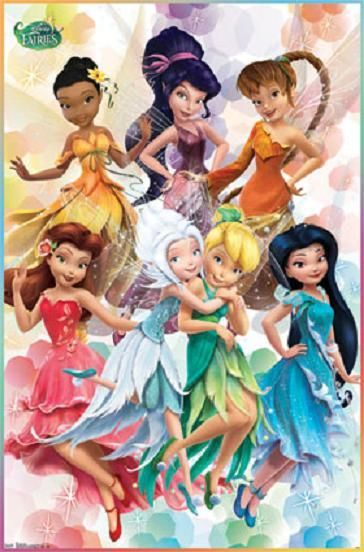 39 s disney princess castle - Clochette et ses amies ...