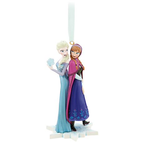 Anna and Elsa Ornament - Frozen (2)