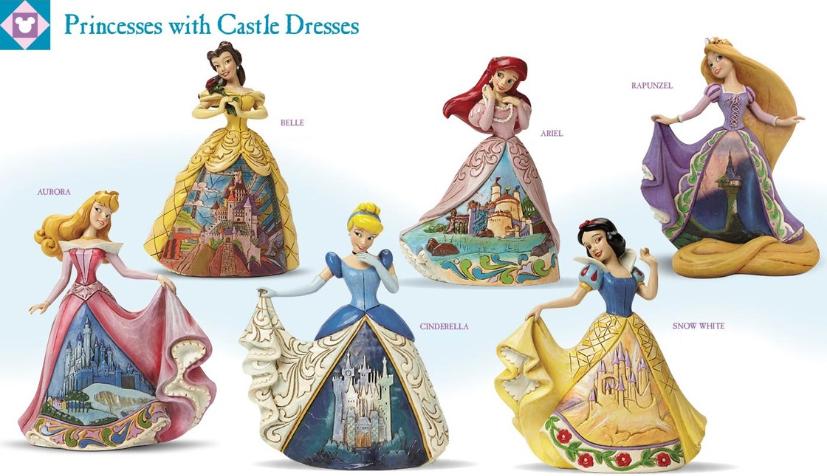 爱木小湾迪士尼公主城堡礼服