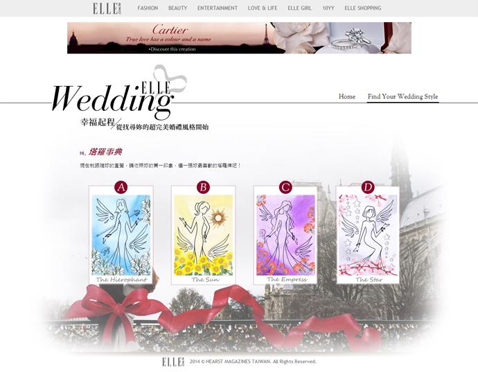 找尋妳的超完美婚禮風格---ELLE-WEDDING-找尋妳的完美婚禮風格
