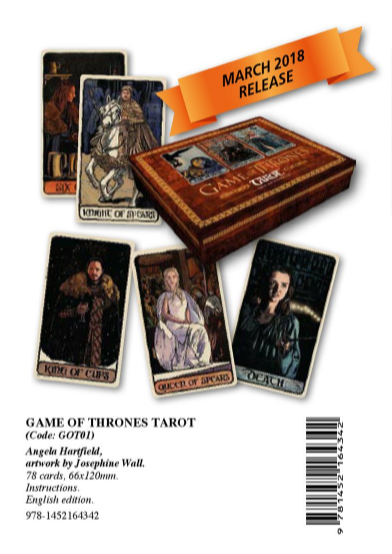 GAME OF THRONES TAROT 冰與火之歌:權力遊戲塔羅牌