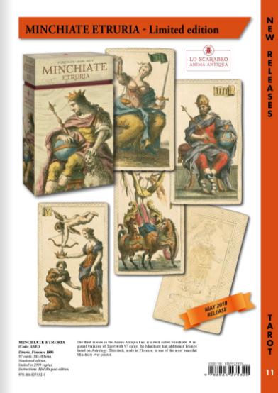MINCHIATE ETRURIA 古代伊特魯里亞塔羅牌