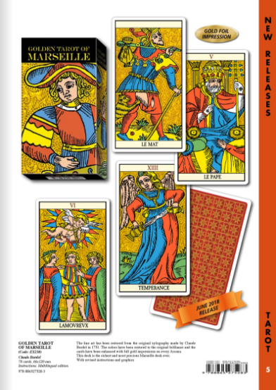 8.GOLDEN TAROT OF MARSILLE黃金馬賽塔羅牌