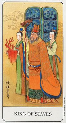 不过看到了这副中国古典塔罗牌