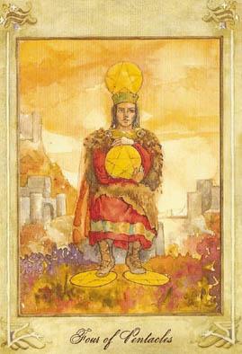 塔罗牌皇后牌图片
