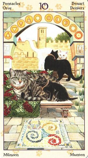 78张 神秘学主题:传统塔罗 绘画风格:手绘插画 创作题材:自然动物 牌