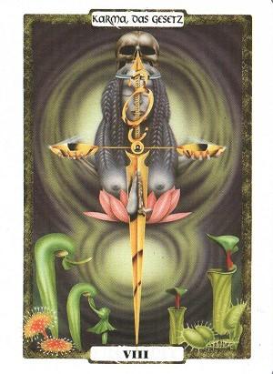 在梦时代塔罗牌中看出一个部分灵魂的无尽的方式向更