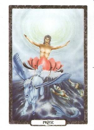 在梦时代塔罗牌中看出一个部分灵魂的无尽的方式向