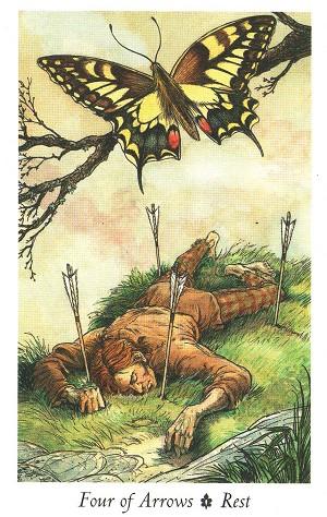我们在这副原始丛林塔罗牌中看到了很多欧洲的古老观念与森林的传说