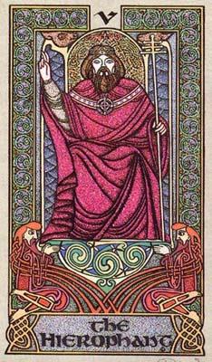 凯尔特十字占卜法 塔罗牌