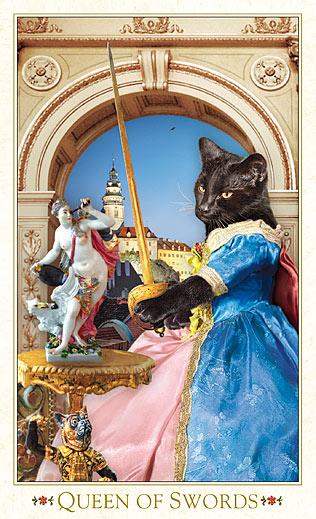 波西米亚猫塔罗牌(第三版)