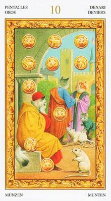 在塔罗占卜的价值上,因为依据的是伟特系塔罗牌,所以如果你是新手宝宝