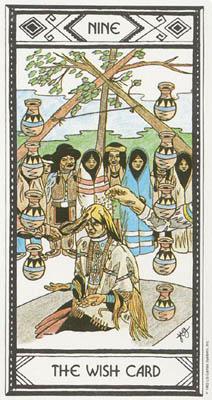 印第安人塔罗牌