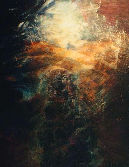 星空塔罗牌封面图片素材