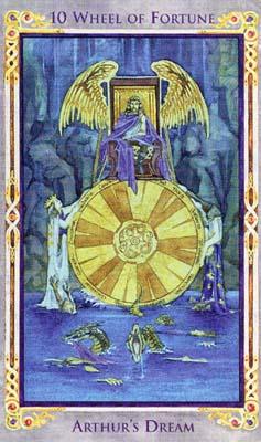 利用塔罗牌的78张牌面,从传奇的开端画到故事的结束,在这个牌组中隐藏