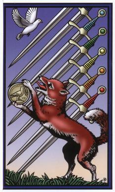 神秘七阶塔罗牌