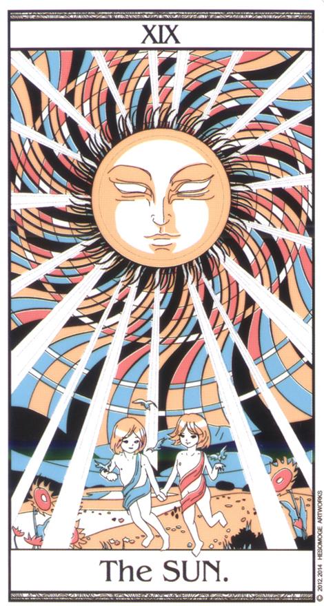 传统塔罗 绘画风格:手绘插画
