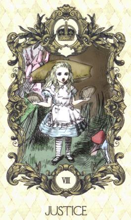 爱丽丝绘本塔罗牌