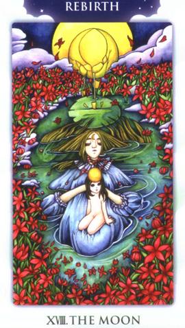 迷蒙塔罗牌也是22张大牌的设计,运用故事巧妙的将塔罗牌的基本牌意