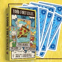 食物預言塔羅牌Food Fortunes: A Deck of Dinner Divination