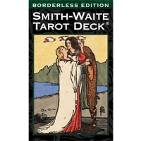 史密斯偉特塔羅牌SMITH-WAITE TAROT BORDERLESS EDITION