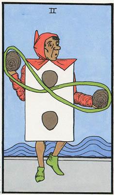 其实塔罗牌的设计是在讲一个人(愚者)的旅程