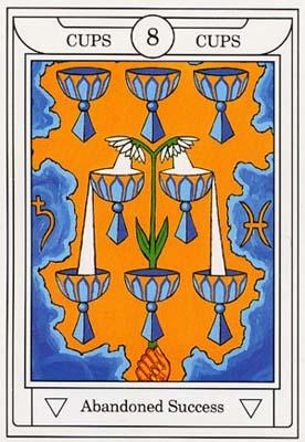 除了基本的塔罗牌意涵外,还加入了希伯来字母,行星,星座等符号,另